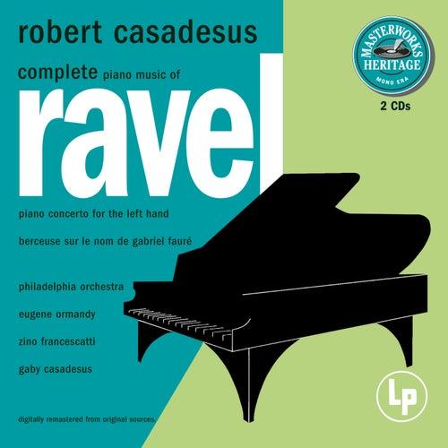 Masterworks Heritage: Ravel - Complete Solo Piano Music de Robert Casadesus