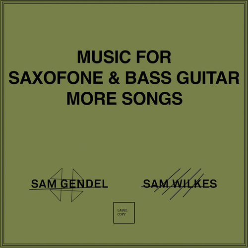 Music for Saxofone & Bass Guitar More Songs by Sam Gendel