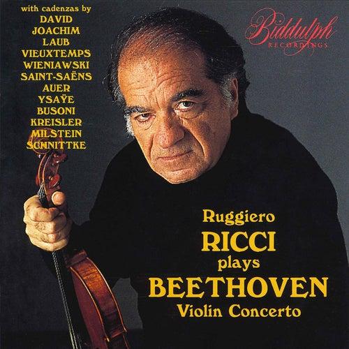 Beethoven: Violin Concerto in D Major, Op. 61 & 14 Cadenzas von Ruggiero Ricci