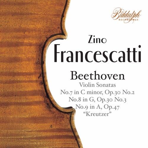 Beethoven: Violin Sonatas Nos. 7-9 de Zino Francescatti