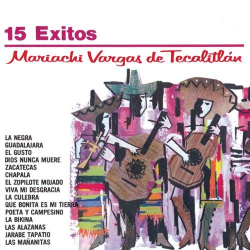 Serie Oro 15 Exitos Del Mariachi Vargas De Tecalitlan by Mariachi Vargas de Tecalitlan