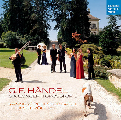 Händel: Concerti Grossi op. 3 Nr. 1-6 von Kammerorchester Basel
