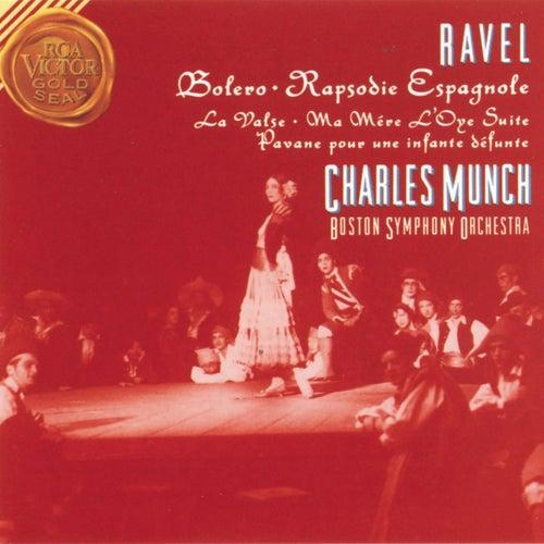 Ravel: Bolero / Rapsodie Espagnole / Pavan For A Dead Princess von Charles Munch