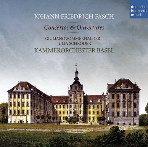 Johann Friedrich Fasch: Concerti & Ouvertüren von Kammerorchester Basel