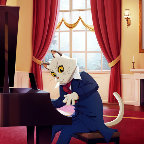 Piano Songs for Lonely Nights by Piano Cat
