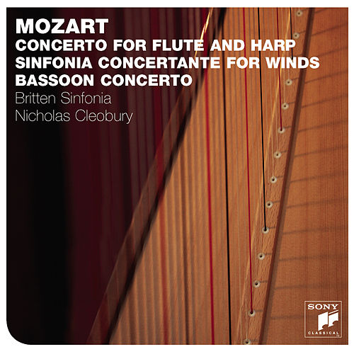 Mozart: Concerto For Flute and Harp de Britten Sinfonia
