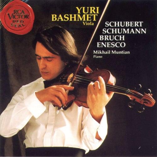 Schubert/Schumann/Bruch/Enescu de Yuri Bashmet