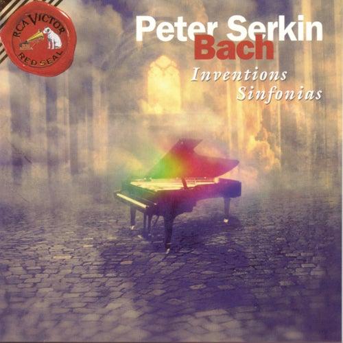 Bach: Inventions; Sinfonia; Duets de Peter Serkin