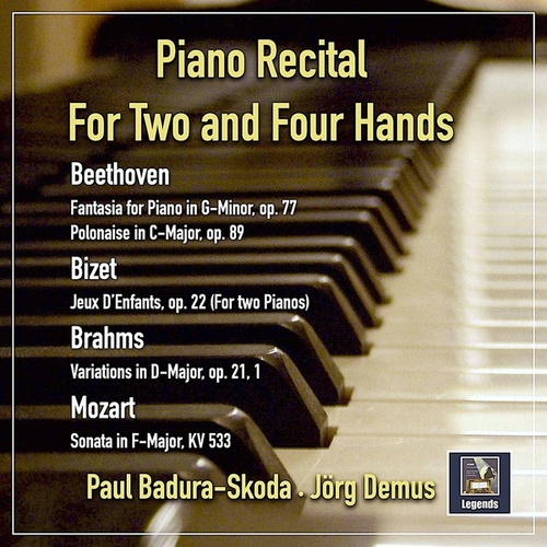 Piano Recital for Two and Four Hands by Paul Badura-Skoda