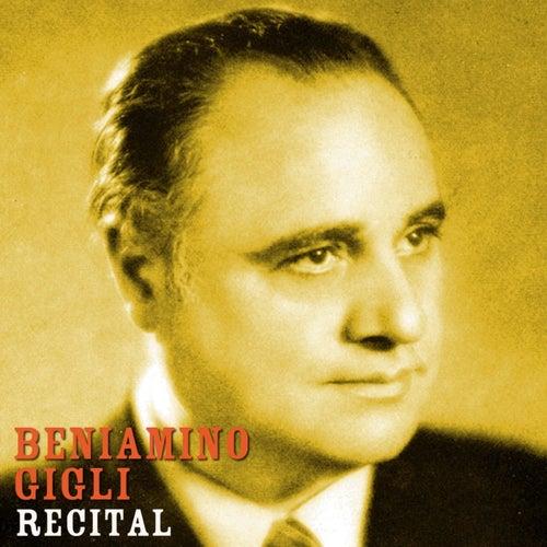 Recital de Beniamino Gigli