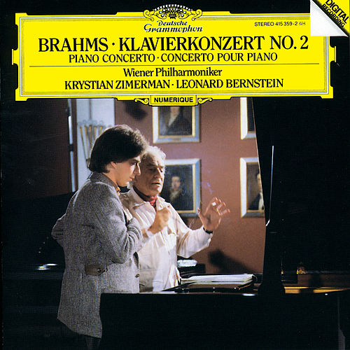 Brahms: Piano Concerto No. 2 in B flat, Op. 83 by Krystian Zimerman