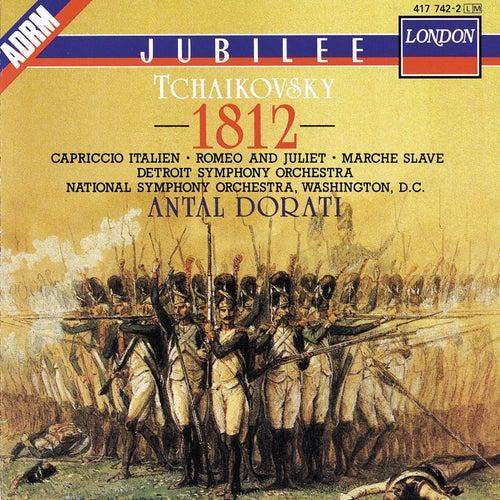 Tchaikovsky: 1812 Overture; Capriccio italien; Romeo and Juliet; Marche slave von Detroit Symphony Orchestra