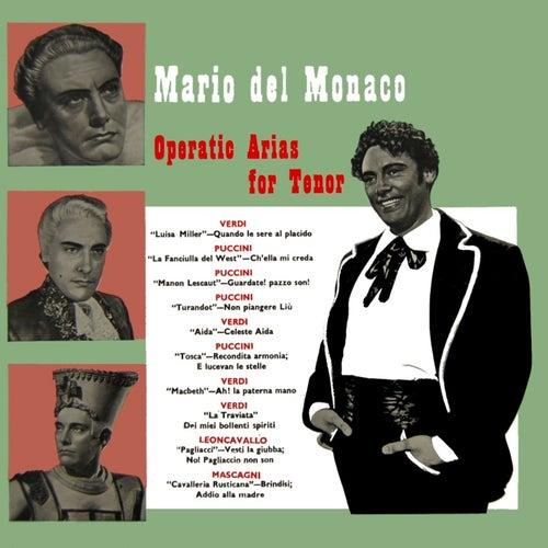 Operatic Arias For Tenor de Mario del Monaco