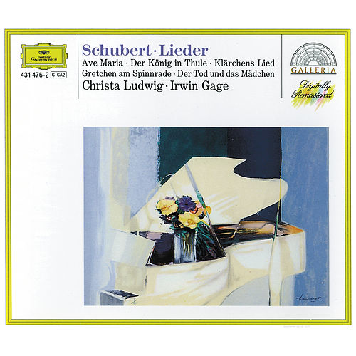 Schubert: Lieder by Christa Ludwig