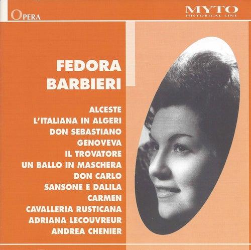 Verdi, Bizet, Rossini & Others: Opera Excerpts (Live) by Fedora Barbieri