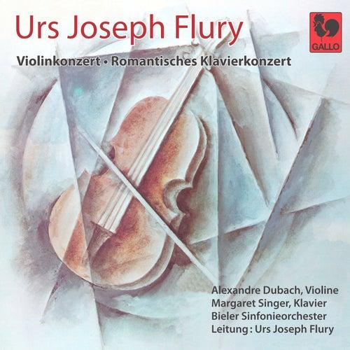 Urs Joseph Flury: Violinkonzert - Romantisches Klavierkonzert by Alexandre Dubach