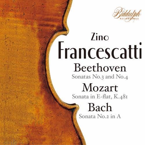 Beethoven, Mozart & Bach: Violin Sonatas de Zino Francescatti