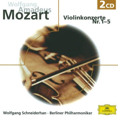 W.A. Mozart: Violinkonzerte  Nr.1-5 von Wolfgang Schneiderhan