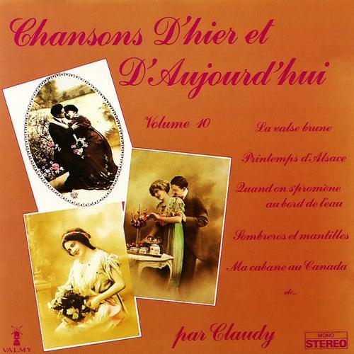 Chansons d'hier et d'aujourd'hui Vol. 10 de Claudy