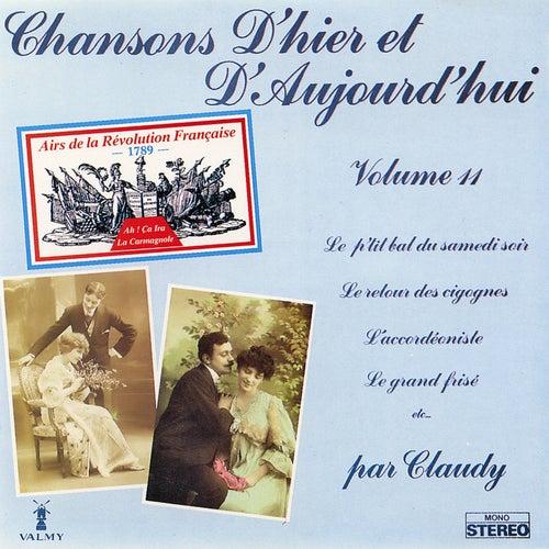 Chansons d'hier et d'aujourd'hui Vol. 11 de Claudy