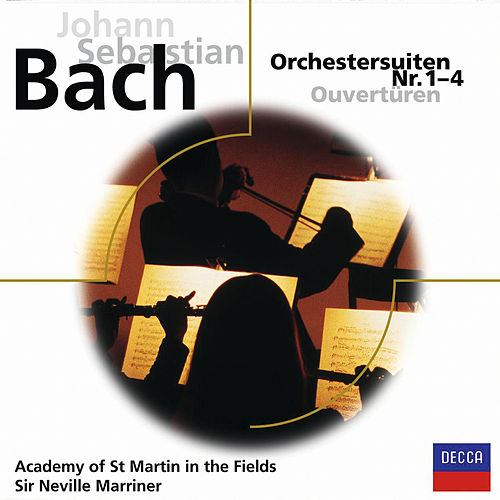 Bach: Orchestersuiten Nr.1-4 by William Bennett