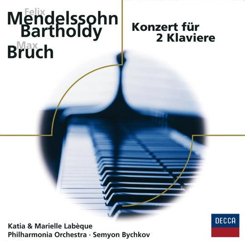 Mendelssohn, Bruch: Konzerte für 2 Klaviere by Katia Labèque