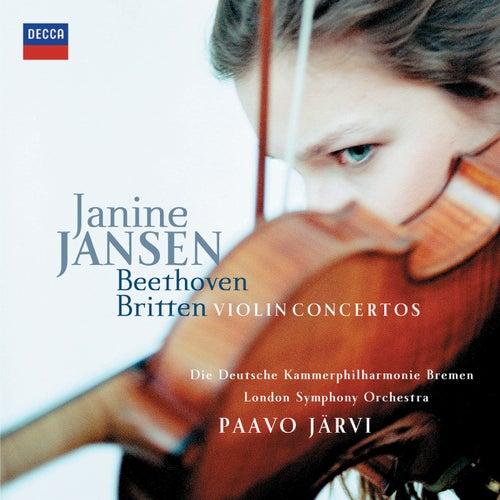 Beethoven & Britten: Violin Concertos by Janine Jansen