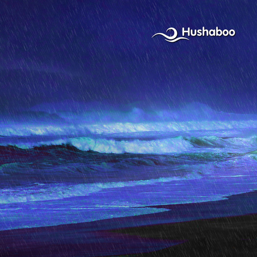 Ocean Surf Beach Rain by Hushaboo
