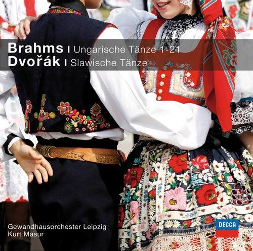 Brahms Ungarische Tänze, Dvorak Slawische Tänze di Gewandhausorchester Leipzig