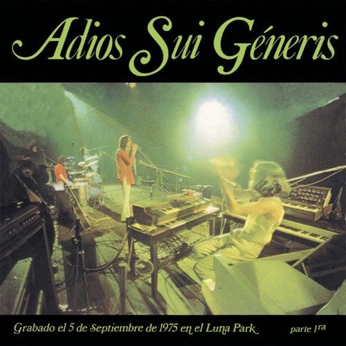 Adiós Sui Generis Vol.I de Sui Generis