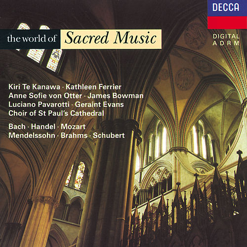 The World of Sacred Music by Various Artists