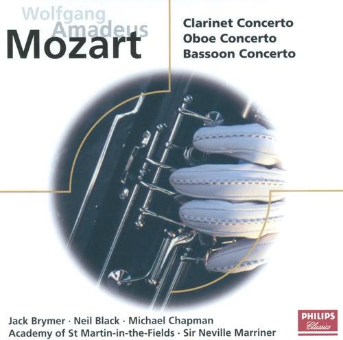 Mozart: Concertos for Clarinet, Oboe & Bassoon von Jack Brymer