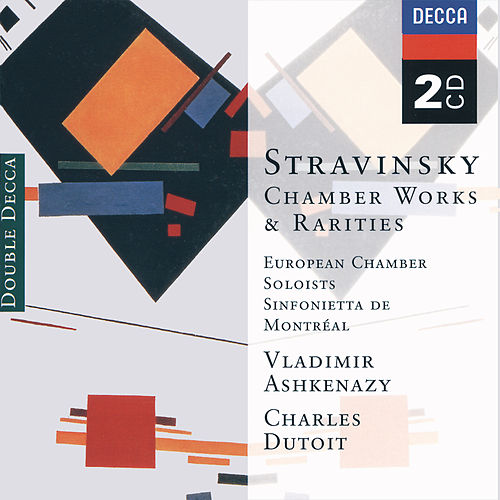 Stravinsky: Chamber Works & Rarities de European Soloists Ensemble