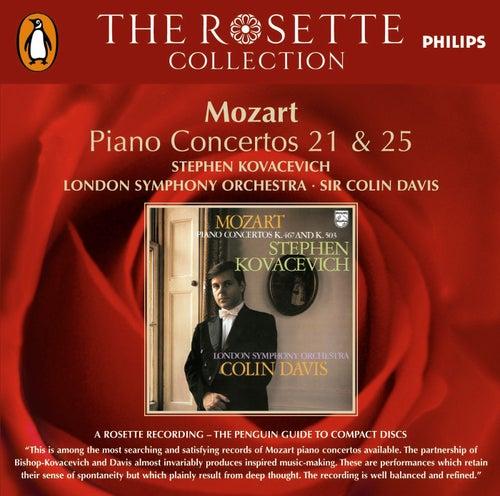 Mozart: Piano Concertos Nos. 21 & 25 di Stephen Kovacevich