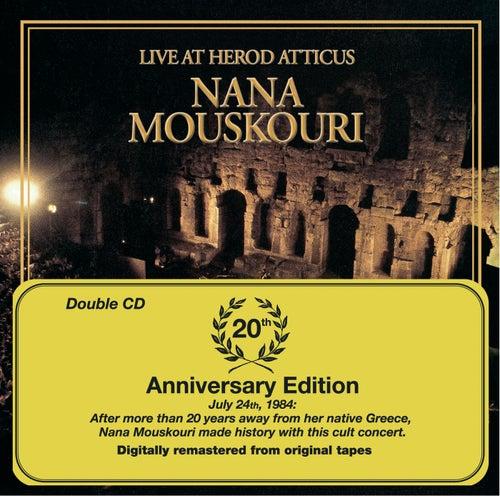 Live At Herod Atticus de Nana Mouskouri