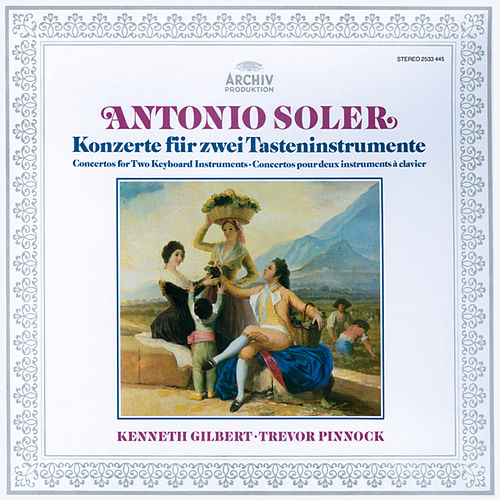 Soler: 6 Concertos for Two Keyboard Instruments de Kenneth Gilbert