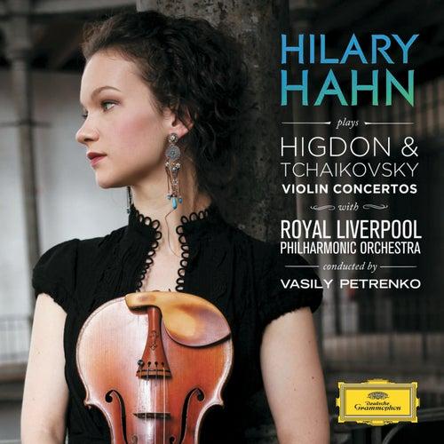 Higdon / Tchaikovsky: Violin Concertos von Hilary Hahn
