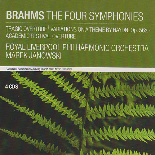 Brahms: The Four Symphonies; Tragic Overture; Variations on a Theme by Haydn, Op.56a; Academic Festival Overture von Marek Janowski