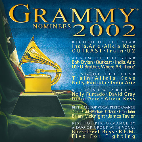 2002 Grammy Nominees by Various Artists