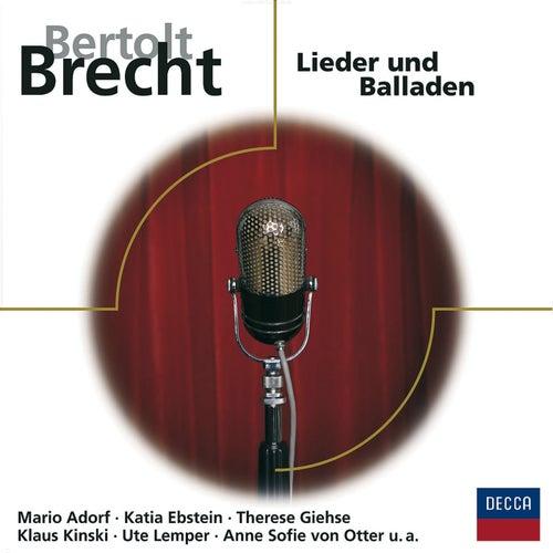 Brecht: Lieder und Balladen de Various Artists