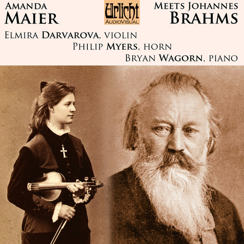 Amanda Maier Meets Johannes Brahms von Elmira Darvarova