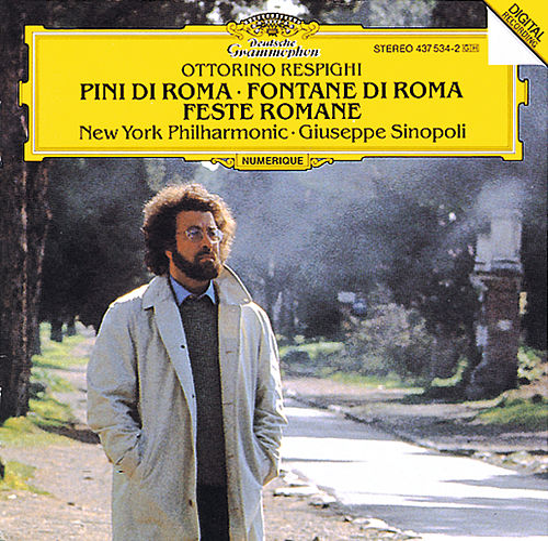 Respighi: Pini di Roma; Fontane di Roma; Feste Romane by New York Philharmonic
