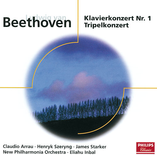 Beethoven: Klavierkonzert Nr. 1; Tripelkonzert von Claudio Arrau