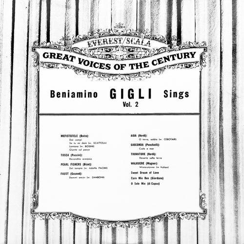 Beniamino Gigli Sings Vol. 2 de Beniamino Gigli