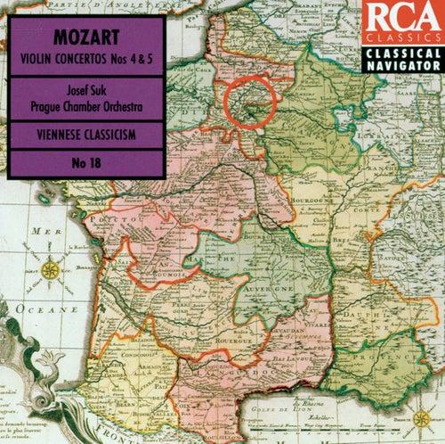 Mozart: Violin Concertos Vol. 2 - Classical Navigator von Josef Suk