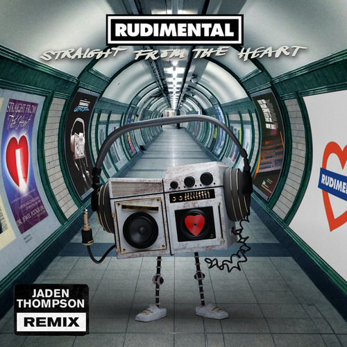 Straight From The Heart (feat. Nørskov) (Jaden Thompson Remix) by Rudimental