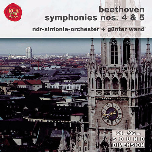 Beethoven: Symphonies 4 & 5 by Günter Wand