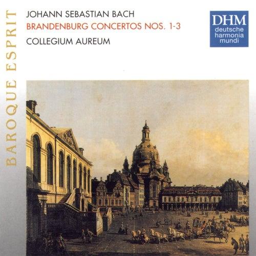 J.S. Bach: Brandenburg Concertos 1 - 3 by Collegium Aureum
