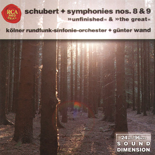Dimension Vol. 7: Schubert - Symphonies Nos. 8 & 9 by Günter Wand
