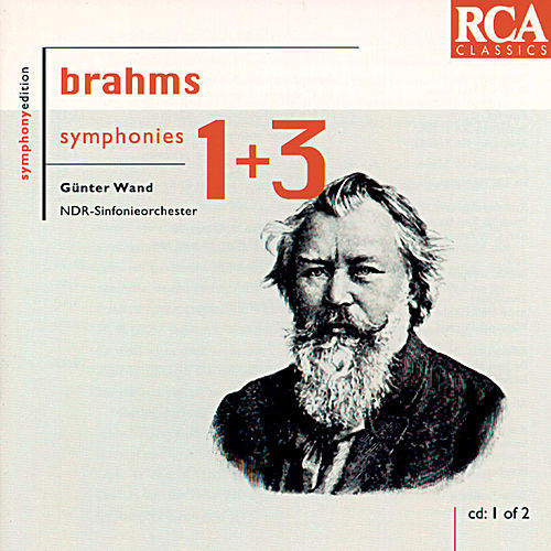 Brahms: Symphonies Nos. 1 & 3 by Günter Wand